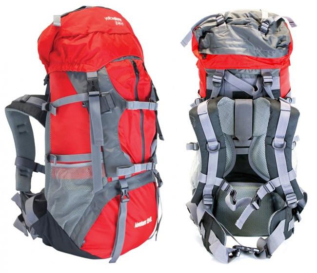 Adventurer Travel Camping Hiking Rucksack Backpack Back