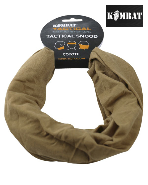 Mens Army Combat Military Snood Neck Scarf Sniper Wrap Camo Head Shemagh Hat BTP