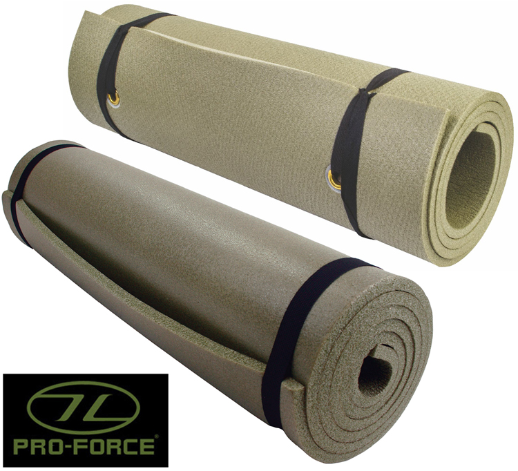 Highlander ELITE Sleeping Mat 4 Season XPE Foam Military Army Camping Mat Olive