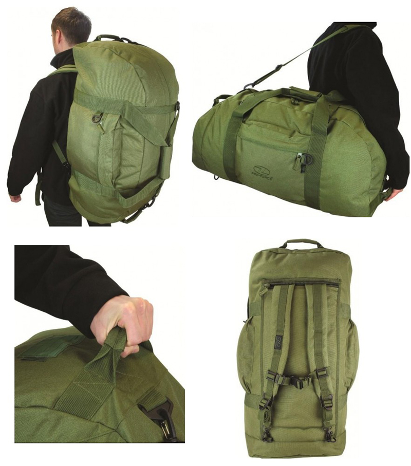 Army Combat Military Shoulder Travel Holdall Kit Equipment Bag ... 1d78cae5ae9