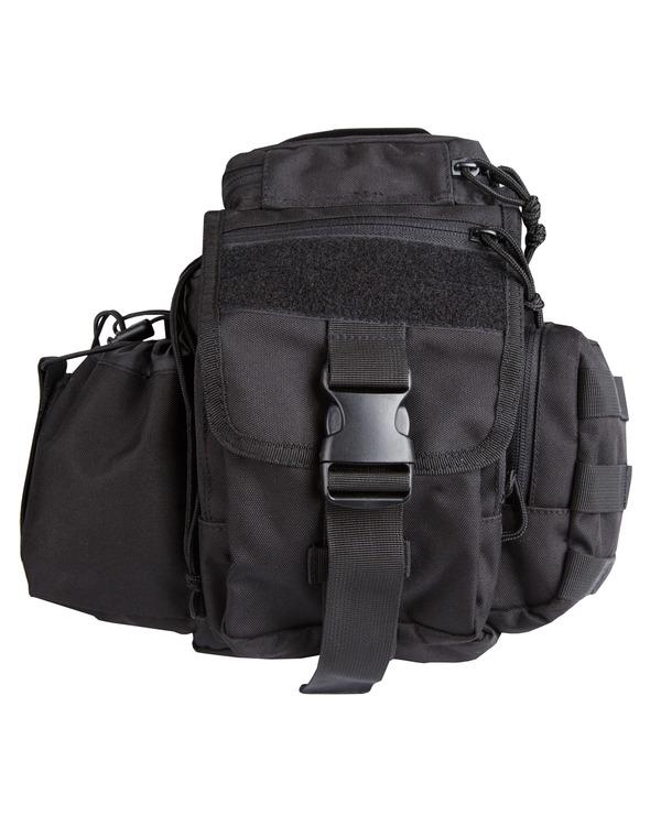 Combate del Ejército militar Hombro Cámara de viajar día Bolsa Pack caso Dlsr Slr Negro Nuevo