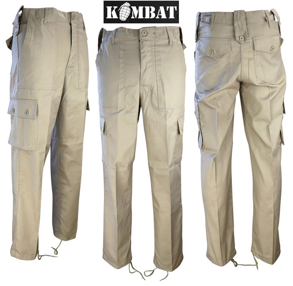 Kombat Homme Tactique Ripstop BTP Pantalon cadets de l/'Armée Militaire Camouflage Combat NEUF