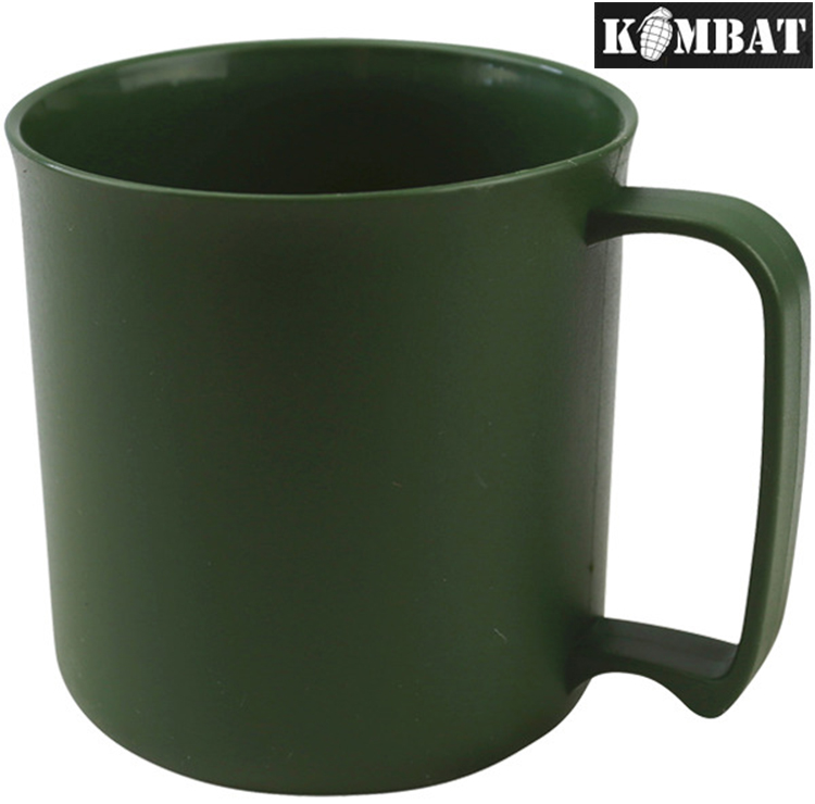 CADET Green  Plastic Plate 24cm Wide ARMY STYLE LIGHT WEIGHT DURABLE camping