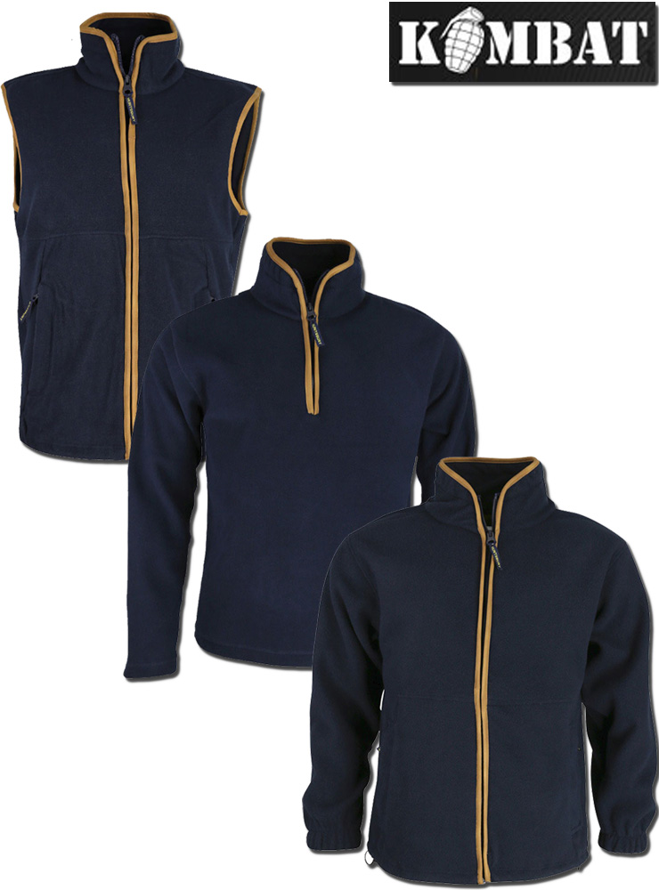 SALE Regents View Mens Fleece Bodywarmer with trims country clothing zip pocket