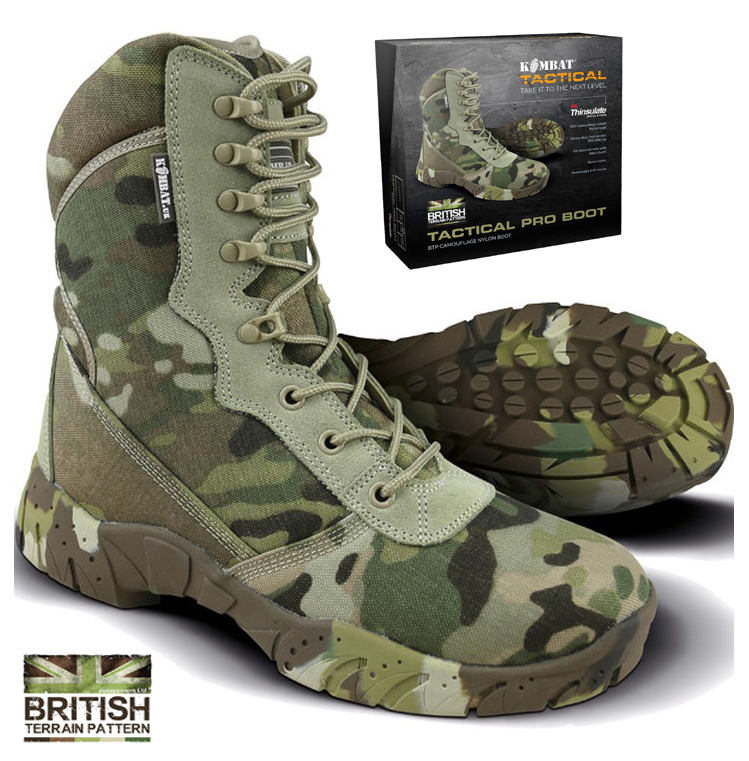Mens Combat Military Black Army Patrol Hiking Cadet Work Leather Boot All Sizes