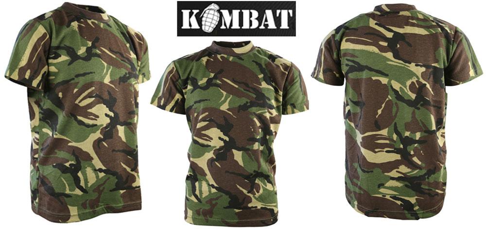 Kids Army T Shirt BTP Camo Military Fancy DressUp Soldier Childrens Alt Multicam