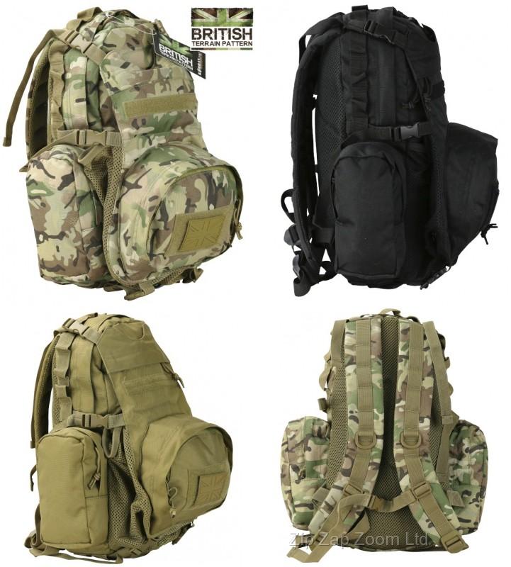 Armée Militaire Combat Sac à dos Voyage sac à dos Vulcan Jour Pack 22 L Molle NEUF