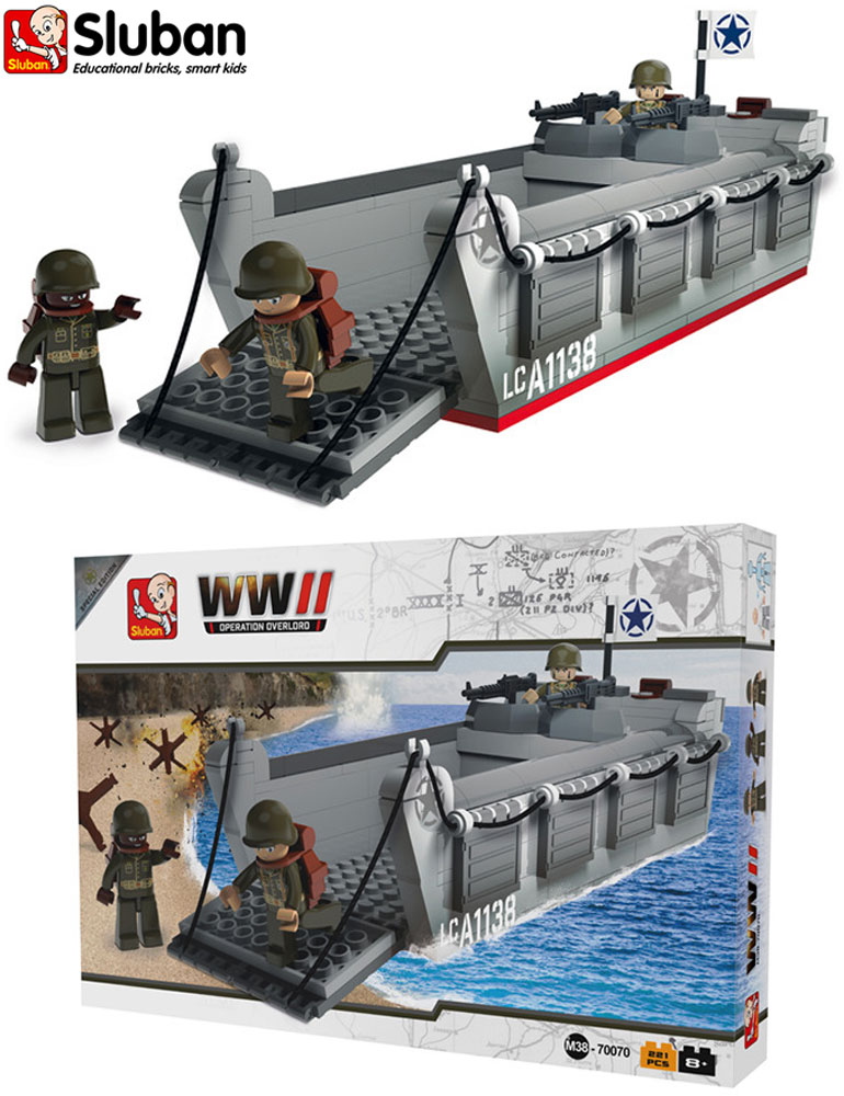 Sluban B0508 Military Soldier Army Building Bricks Toy Chinook Helicopter /& Jeep