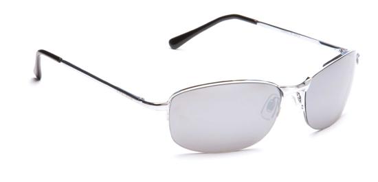 Mens Ladies Classic Retro Metal Vintage Silver Mirror  Pilot Sunglasses Case